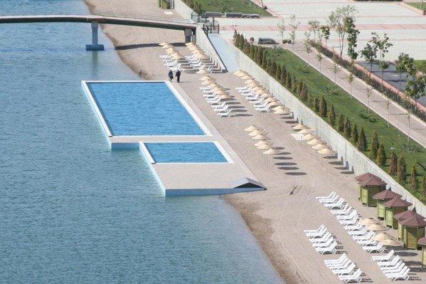 Kentpark Açık Yüzme Havuzu